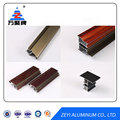 Powder coating aluminum shutter for sliding door
