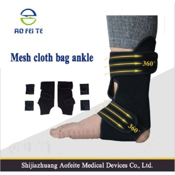 Black adjustable ankle weights socks men support