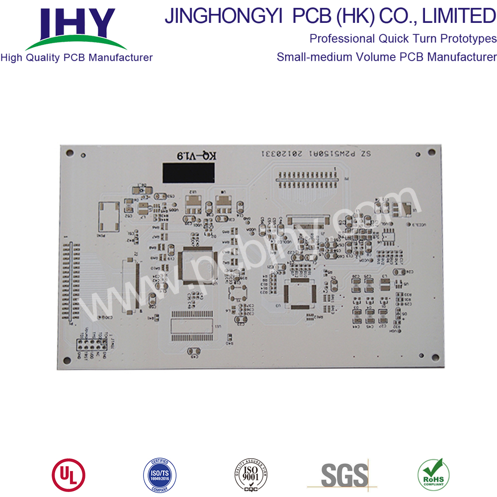 White FR4 1.0mm 2L Rigid PCB