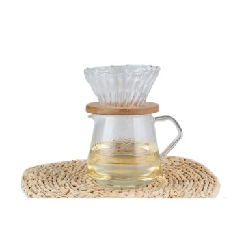 Glass Tea Pot With Glass Dripper