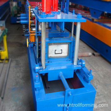 New type 400mm width used c purlin roll forming machine