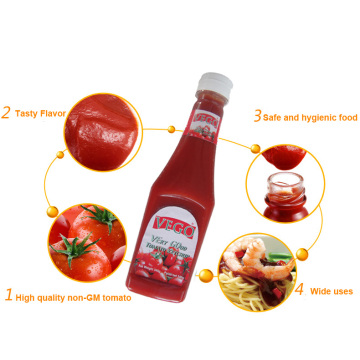 340G Tomato Ketchup with Rich Nutrition