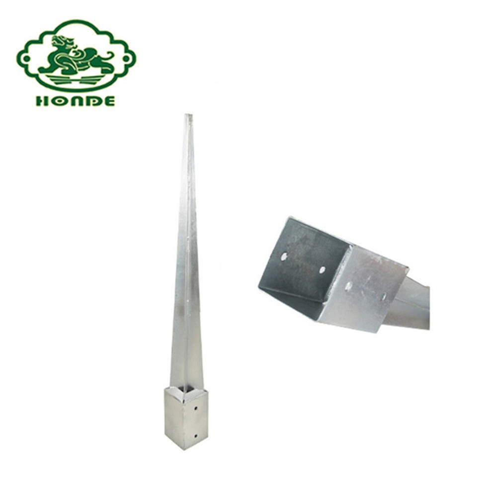 High Quality Low Price Post Ground Anchor Factory