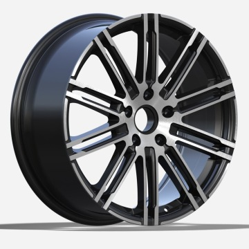 Porsche Replica Rim 21X9 Gunmetal Polished