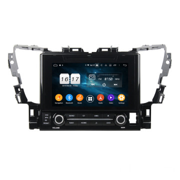 Double din navigation android for Alphard 2015