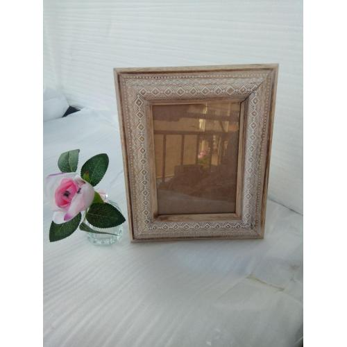 Naturally Wooden Picture Frame Standing