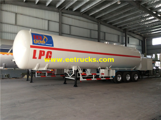 LPG Gas Filling Trailer