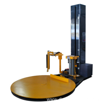 Heavy duty automatic pallet wrapping machine