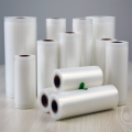 Food storage sealer embossed vacuum seal bags rolls