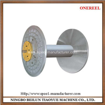 Manufactur standard for Aluminium Bobbin Textile Warping Beam for warping machine supply to India Wholesale