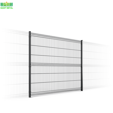PVC Coated Wire Mesh Fence White Mesh Fence