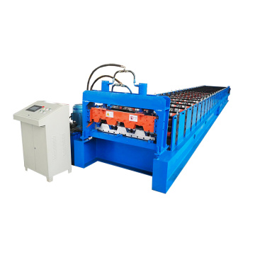 Galvanized Steel Floor Deck Roll Forming Machinery Equipment