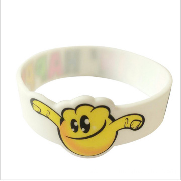 Excellent quality for Custom Silicone Bracelets Cheap Silicone Bracelet Bulk Children Silicon Band Wristband export to Azerbaijan Factory