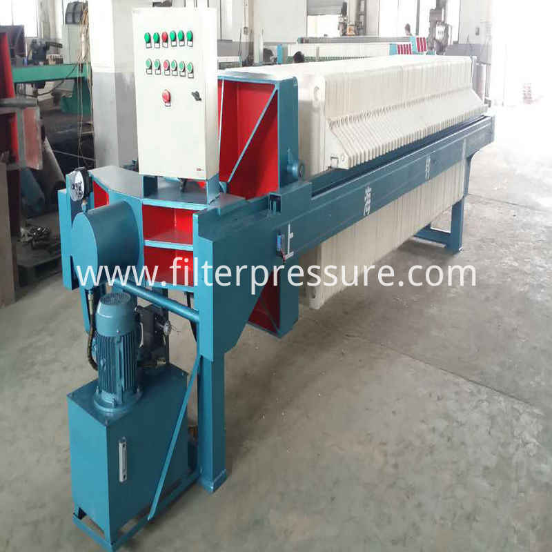 Pharmacy Stainless Steel Filter Press 4