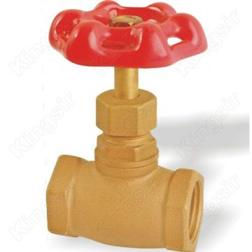 Goods high definition for Water Stop Valves Good Sealing Performance Brass Stop Valves supply to Tajikistan Manufacturers