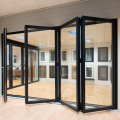 Lingyin Construction Materials Ltd 2019 aluminum large glass folding doors for homes