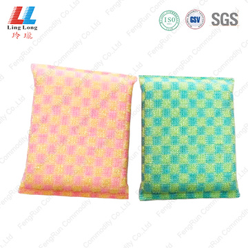 Grid gradient high quality cleaning sponge
