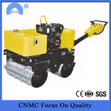 Goods high definition for Tandem Road Roller 1 ton Two Drum Vibrating Compactor Road Roller supply to Oman Factories
