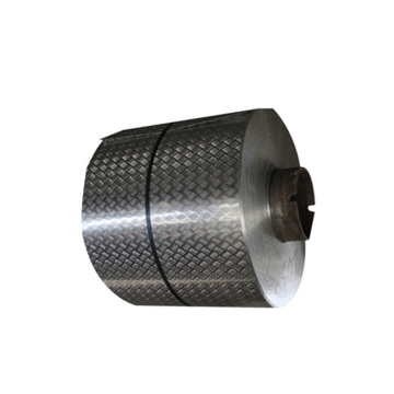 Small Five Bar Aluminum Checkered Plate Pattern