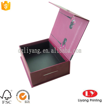 Quality custom paper flat folding gift boxes