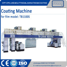 PET BOPP film 0.012-0.050mm Film coating machine