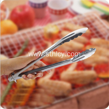 Stainless Steel Food Clip Bread Barbecue Clip