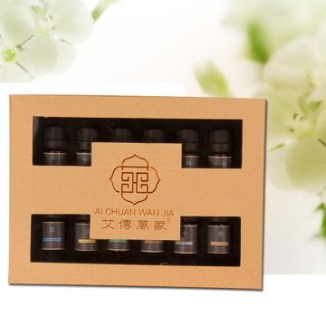 essential oil set blends bergamot black pepper