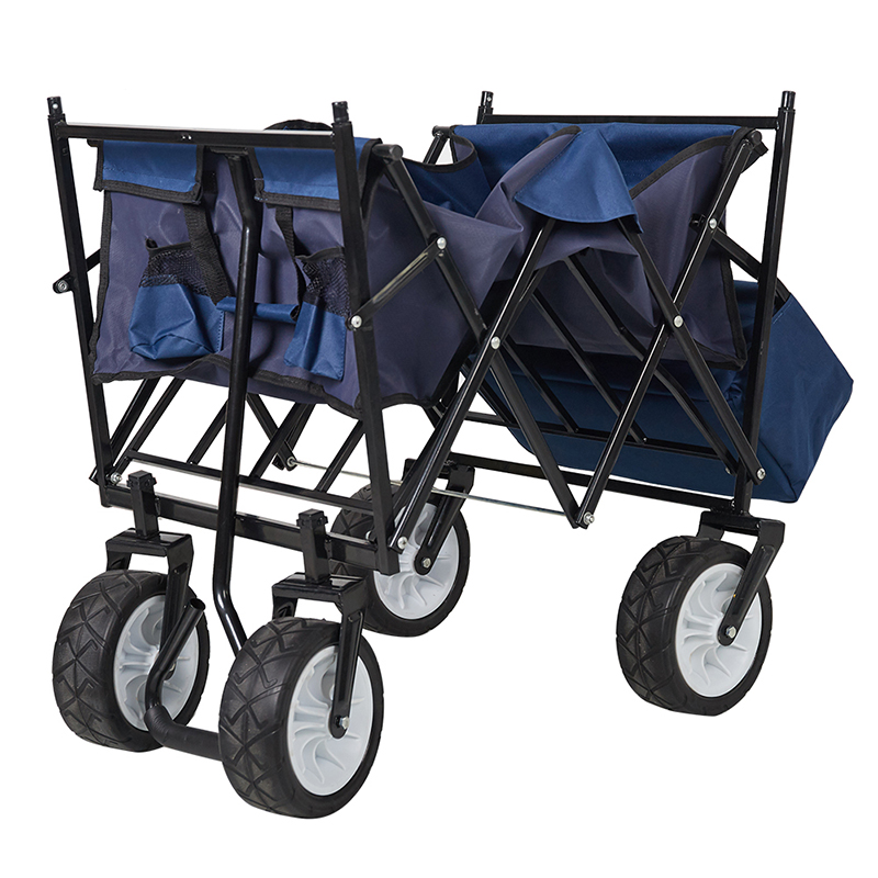 Foldable Wagon With Canopy