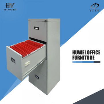 4 Layer KD office hanging steel drawer cabinet