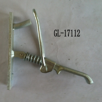 Toggle Latch Hasp With a Hook Fastener