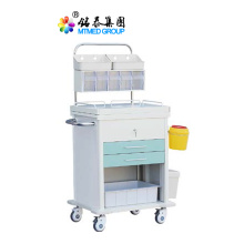 Anesthesia treatment cart with accessories