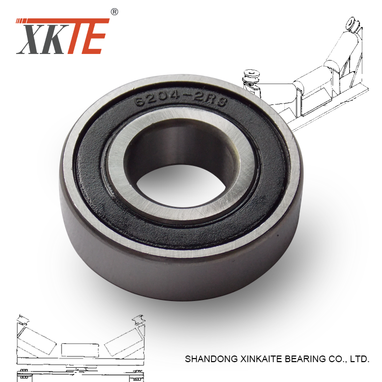 Ball Bearing For Conveyor UHMWPE Mining Roller Components