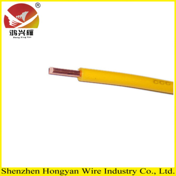 HOT selling 2.5mm single copper core electric bv cable with CE and factory price