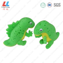 3D children animal bath sponge