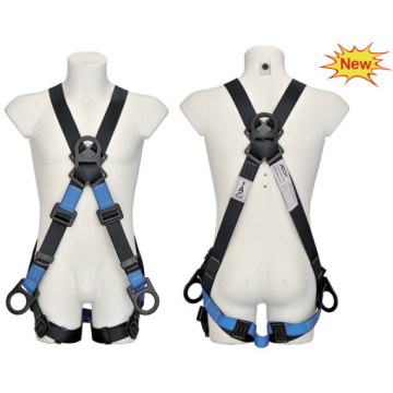 High tenacity fall arrest protector full body safety harness belt