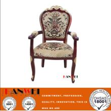 Discount Price Pet Film for Antique Furniture Solid Wooden Armrest Chair Wood Chair supply to El Salvador Manufacturers