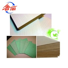 Furniture grade Carb P2 MDF board interior use