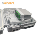 Indoor Outdoor Plc Ip65 Waterproof 16 Fibers Ftth Plastic Fiber Optic Terminal Distribution Box