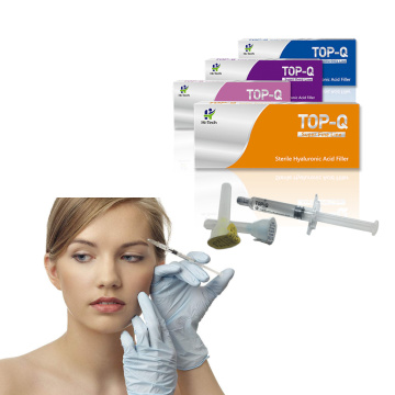 Facial Buy Injectable Dermal Fillers TOP-Q 2ml Injectable Hyaluronic Acid Dermal Fillers