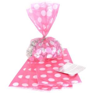 customized transparency cellophane candy bag