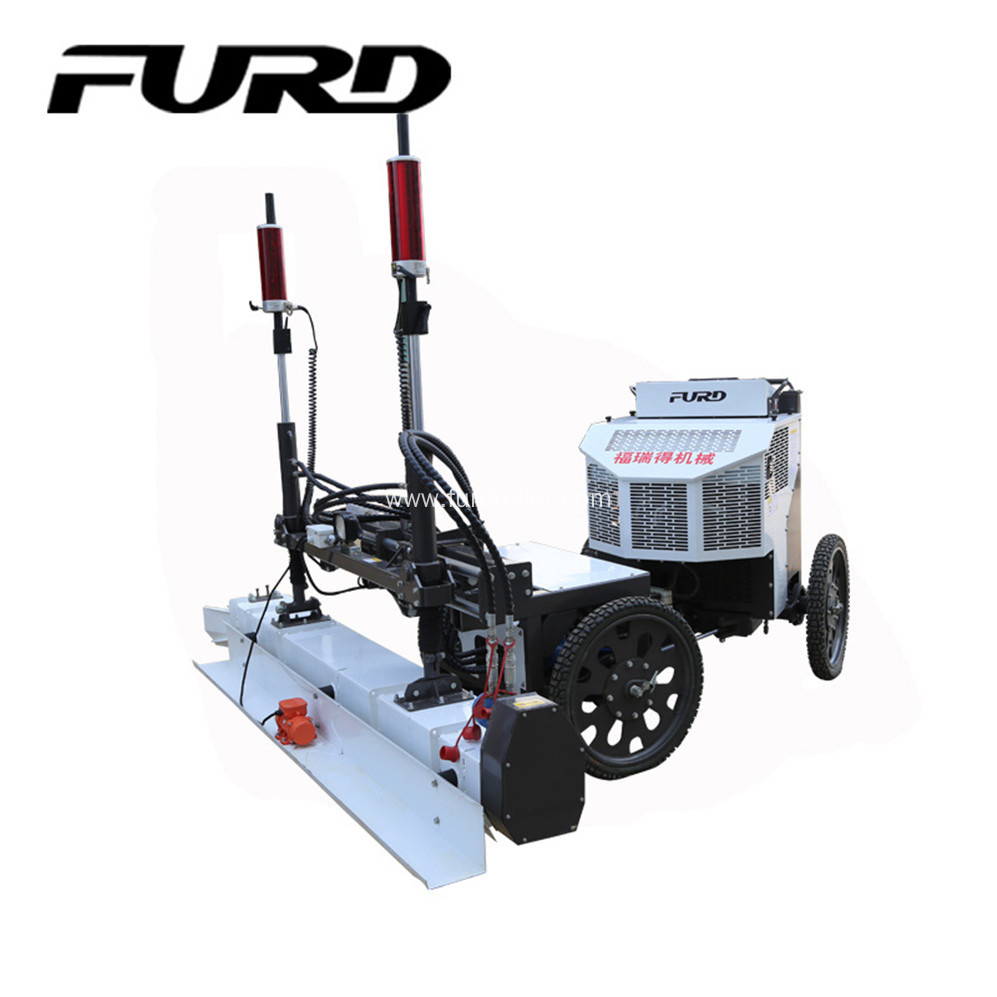 Auger Paving Concrete Laser Screed Floor Leveling Machine