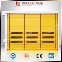 I-Industrial High Speed ​​Windproof PVC Stacking Door