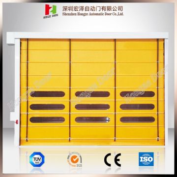 Industrial Speed ​​High Windproof PVC Stacking Door
