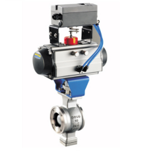 Hot-selling Flange Type Pneumatic Adjustable Valve