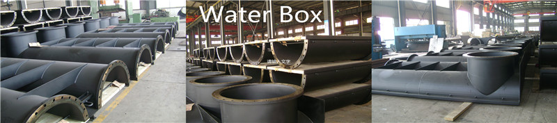 Steel welded water boxes