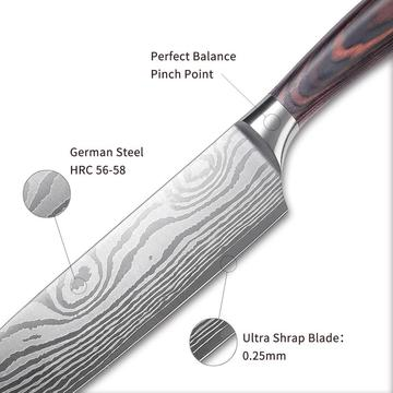 7inch Carbon Steel Japanese Chef Knife
