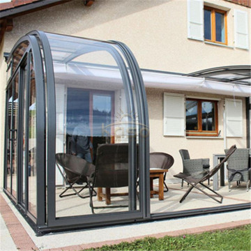 Telescopic Prefabricated Home Garden Telescope Sunroom