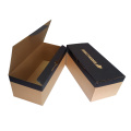 Custom classic folding shoes box packaging