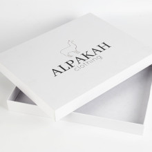 Custom White Gift Box With Lid Packaging
