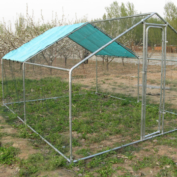 Mobile Metal Chicken Coop with Wal-Mart's Audit